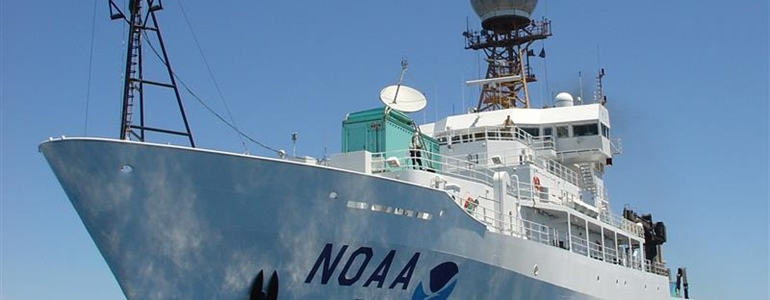 NOAA Ship Ronald H. Brown sets sail to boost ocean data for weather prediction