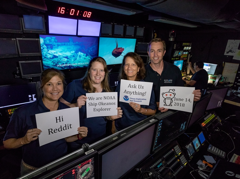 JUNE 14TH REDDIT AMA: EXPLORATION OF DEEP-SEA HABITATS OF THE SOUTHEAST U.S. CONTINENTAL MARGIN