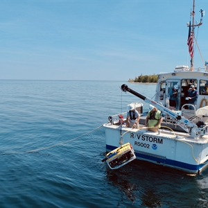 Giant sinkholes are adding water to Lake Huron. Scientists ask: How much?