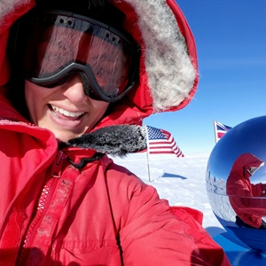 Nowhere to go but up: A day in the life at the South Pole
