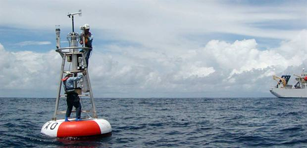 Carbon dioxide in the tropical Pacific Ocean is increasing faster than expected