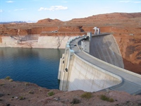 Lake Powell and Glen Canyon Dam
