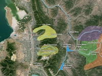 Map of Salt Lake City watersheds